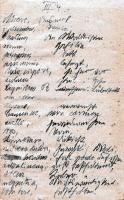 [Zapiski znalezione w Warcinie podczas remontu Wozowni]