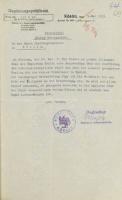 1.05.1931, Pismo nadburmistrza Słupska do prezydenta rejencji z 1.05.1931 r.