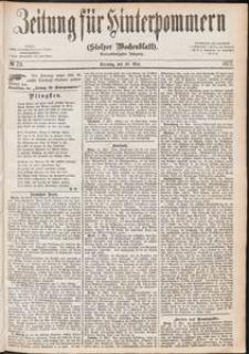 Zeitung für Hinterpommern (Stolper Wochenblatt) Nr. 79/1877