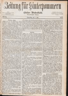 Zeitung für Hinterpommern (Stolper Wochenblatt) Nr. 104/1877