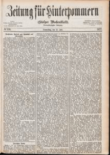 Zeitung für Hinterpommern (Stolper Wochenblatt) Nr. 108/1877