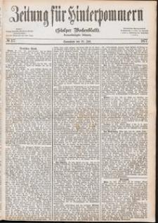 Zeitung für Hinterpommern (Stolper Wochenblatt) Nr. 117/1877
