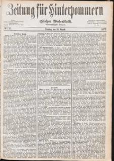 Zeitung für Hinterpommern (Stolper Wochenblatt) Nr. 135/1877