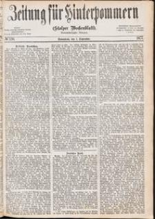 Zeitung für Hinterpommern (Stolper Wochenblatt) Nr. 138/1877