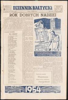 Dziennik Bałtycki, 1954, nr 1