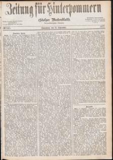 Zeitung für Hinterpommern (Stolper Wochenblatt) Nr. 145/1877