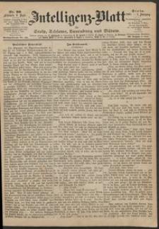 Inteligenz-Blatt für Stolp, Schlawe, Lauenburg und Bütow. Nr 99/1868 r.
