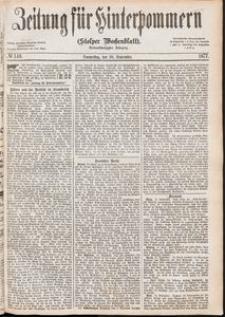 Zeitung für Hinterpommern (Stolper Wochenblatt) Nr. 148/1877