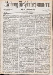 Zeitung für Hinterpommern (Stolper Wochenblatt) Nr. 149/1877