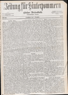 Zeitung für Hinterpommern (Stolper Wochenblatt) Nr. 189/1877