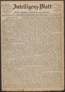 Inteligenz-Blatt für Stolp, Schlawe, Lauenburg und Bütow. Nr 04/1869 r.