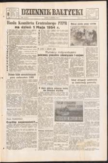 Dziennik Bałtycki 1954/04 Rok X Nr 96