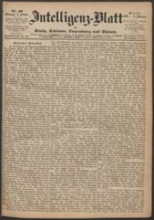 Inteligenz-Blatt für Stolp, Schlawe, Lauenburg und Bütow. Nr 10/1869 r.