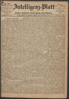 Inteligenz-Blatt für Stolp, Schlawe, Lauenburg und Bütow. Nr 22/1869 r.