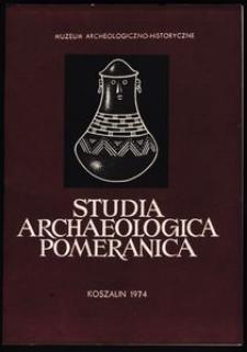 Studia Archeologica Pomeranica