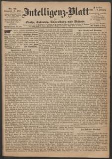 Inteligenz-Blatt für Stolp, Schlawe, Lauenburg und Bütow. Nr 25/1869 r.