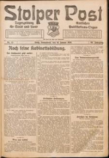 Stolper Post. Tageszeitung für Stadt und Land Nr. 13/1926