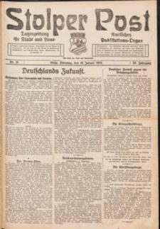 Stolper Post. Tageszeitung für Stadt und Land Nr. 15/1926