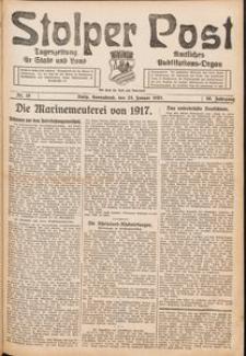 Stolper Post. Tageszeitung für Stadt und Land Nr. 19/1926