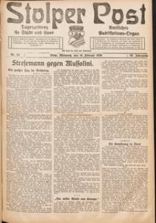 Stolper Post. Tageszeitung für Stadt und Land Nr. 34/1922