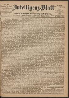 Inteligenz-Blatt für Stolp, Schlawe, Lauenburg und Bütow. Nr 33/1869 r.