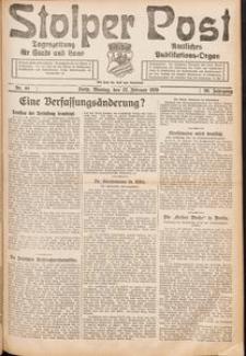 Stolper Post. Tageszeitung für Stadt und Land Nr. 44/1926