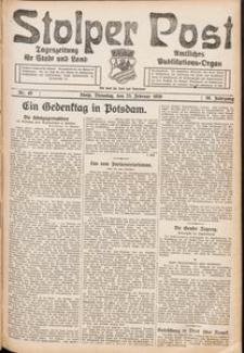 Stolper Post. Tageszeitung für Stadt und Land Nr. 45/1926
