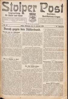 Stolper Post. Tageszeitung für Stadt und Land Nr. 46/1926