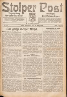 Stolper Post. Tageszeitung für Stadt und Land Nr. 59/1926