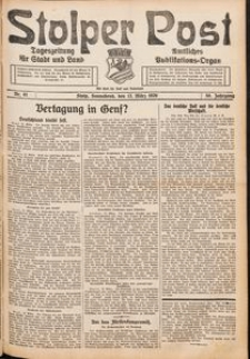 Stolper Post. Tageszeitung für Stadt und Land Nr. 61/1926