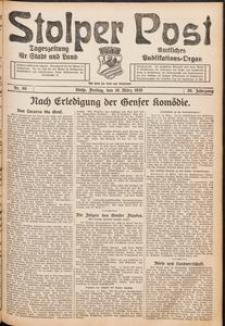 Stolper Post. Tageszeitung für Stadt und Land Nr. 66/1926