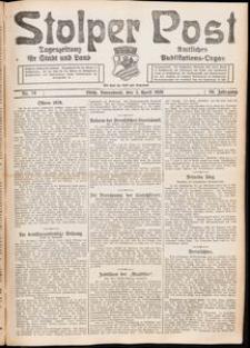 Stolper Post. Tageszeitung für Stadt und Land Nr. 78/1926