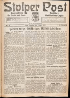 Stolper Post. Tageszeitung für Stadt und Land Nr. 79/1926