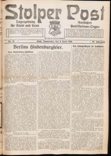 Stolper Post. Tageszeitung für Stadt und Land Nr. 81/1926