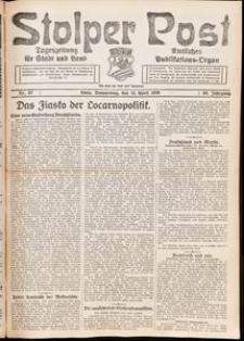 Stolper Post. Tageszeitung für Stadt und Land Nr. 87/1926