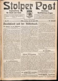 Stolper Post. Tageszeitung für Stadt und Land Nr. 88/1926