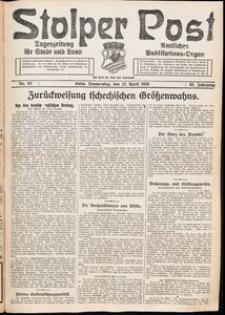 Stolper Post. Tageszeitung für Stadt und Land Nr. 93/1926