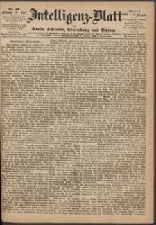 Inteligenz-Blatt für Stolp, Schlawe, Lauenburg und Bütow. Nr 58/1869 r.