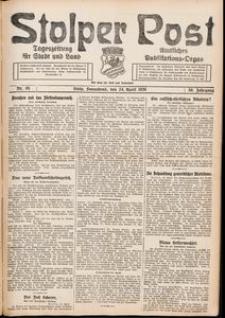 Stolper Post. Tageszeitung für Stadt und Land Nr. 95/1926