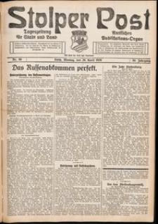 Stolper Post. Tageszeitung für Stadt und Land Nr. 96/1926