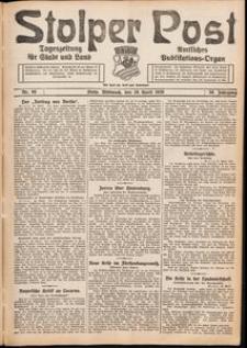 Stolper Post. Tageszeitung für Stadt und Land Nr. 98/1926