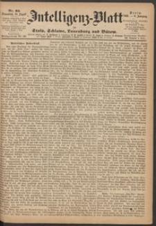 Inteligenz-Blatt für Stolp, Schlawe, Lauenburg und Bütow. Nr 65/1869 r.