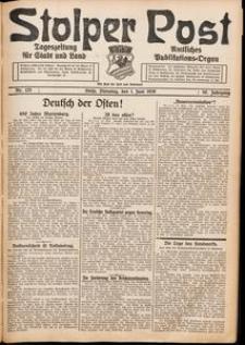 Stolper Post. Tageszeitung für Stadt und Land Nr. 125/1926