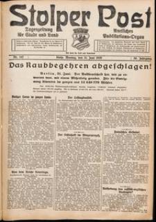 Stolper Post. Tageszeitung für Stadt und Land Nr. 142/1926