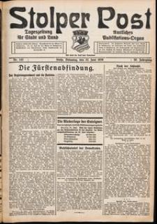 Stolper Post. Tageszeitung für Stadt und Land Nr. 143/1926