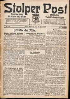 Stolper Post. Tageszeitung für Stadt und Land Nr. 150/1926