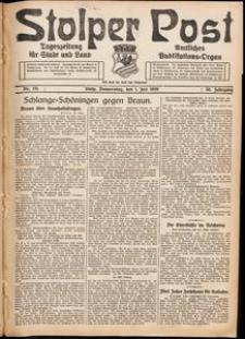 Stolper Post. Tageszeitung für Stadt und Land Nr. 151/1926