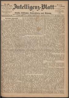 Inteligenz-Blatt für Stolp, Schlawe, Lauenburg und Bütow. Nr 69/1869 r.