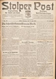 Stolper Post. Tageszeitung für Stadt und Land Nr. 161/1926