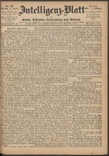 Inteligenz-Blatt für Stolp, Schlawe, Lauenburg und Bütow. Nr 72/1869 r.